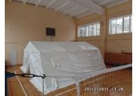 Палатка каркасная М 30 Белая