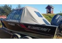 Ходовой тент на катер Alumacraft